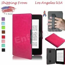 Premium Leather Skin Smart Case Cover For Amazon Kindle/Kindle Paperwhite 1/2/3