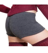 Booty Yoga Shorts, Stretch Knit, Low Rise Made In USA size X LARGE