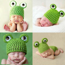 Toddle Baby Infant Knit Crochet Hat Photography Prop casual outdoor Cap Beanie