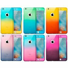 Slim Shockproof Tough Case Cover + Tempered Glass for Apple iPhone 6 6s 7 Plus