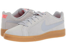 Nike COURT ROYAL SUEDE Mens Grey Casual Comfort Lace Up Shoes