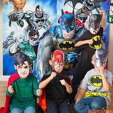 JUSTICE LEAGUE PARTY SUPPLIES-BOYS BIRTHDAY PARTIES-DECORATIONS-TABLEWARE ETC