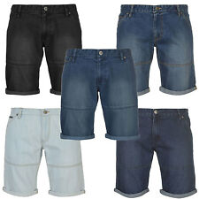 Pierre Cardin Mens 100% Cotton Wear Belt Loop Tapered Shorts Small - XXX Large