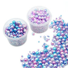 Gradient Colour Acrylic Beads Jewelry Accessories UV Resin Glue Encapsulation