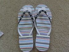 NWT Brand  Summer flip flops from Aeropostale SQUIGGLE PATTERN NWT