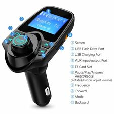 US Bluetooth Car FM Transmitter Wireless Radio Adapter USB Charger Mp3 Player