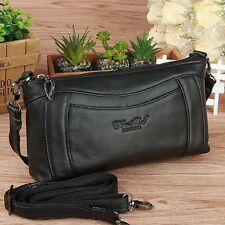Women Fashion Pu Leather Material Interior Slot Pocket Casual One Shoulder Bag