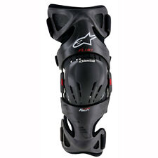 Motorcycle Alpinestars Fluid Tech Carbon Knee Brace - Left - Black UK Seller