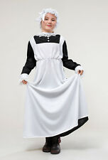 SALE! Kids Poor Victorian Maid Girls Book Week Fancy Dress Childs Costume Outfit