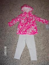 NWT Carters Baby Girls 2 Piece Set Sizes 9,12 and 18 Months