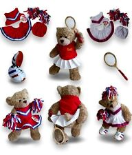 Teddy Bears Clothes fits Build a Bear Teddies Tennis Cheerleader Trainers Outfit