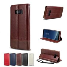 Luxury Magnetic Stand Flip Leather Wallet Case Cover For Samsung Galaxy Note 8