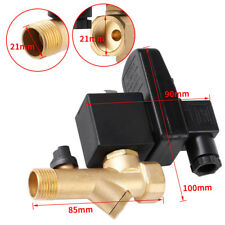 AC110/230V Automatic Electronic Timed Air Compressor Condensate Drain Valve 1/2""
