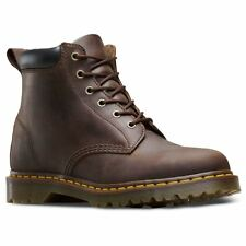 Dr.Martens 939 Ben 6 Eyelet Gaucho Womens Crazy Horse Ankle Lace-up Boots