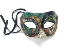 NEW Venetian Unisex Mens Masquerade Mask Halloween Costume Prom Mardi Gras Party