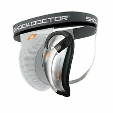 Shock Doctor Supporter with Bio Flex Cup Boys Jock New