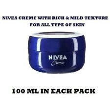 NIVEA CREME FOR SMOOTH SOFT SKIN FOR MOISTURIZING CREAM EACH PACK ,55ML,100 ML