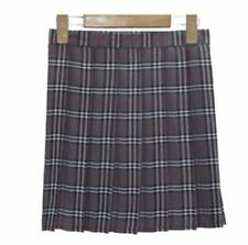 Women New Fashion Summer Solid Color High Waist Pleated Short Skirt