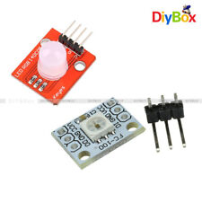 2/5PCS 10MM 1-Bit 5V RGB LED Module Light Emitting Diode WS2812 2811 STM32 M92
