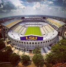 LSU Tigers vs Texas A&M Football- WEST STADIUM CLUB SEATS + Parking Pass