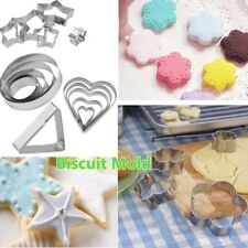 Stainless Steel Biscuit Mold DIY Baking Mould Cookies Cake Pastry Decoration BH