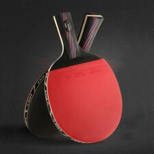 1 PC Rubber Carbon Fiber Table Tennis Racket Bat With Bag Ping Pong Paddle XP