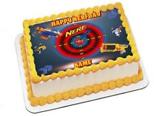 Nerf  Edible Image Sheets Cake Toppers