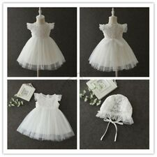Flower Baby Girl Lace Dress Princess Pageant Wedding Birthday Party Bridesmaid