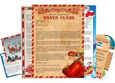 Magical Personalised Letters From Father Christmas + Includes FREE Extras!