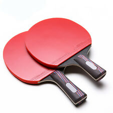 High Quality Table Tennis Racket Ping Pong Paddle Sports Long/Short Handle