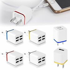 Universal Mini 1/2/4 Ports USB Wall Charger for iPhone Samsung Travel Adapter