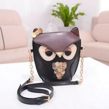 Hot Women Girl Owl Print Shoulder Bag Cross Body Purse Satchel Messenger Handbag