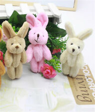 2x Wedding Gift Joint Rabbit Pendant Plush Stuffed TOY Soft Rabbit Toy H&T