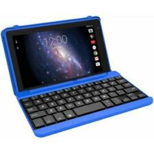 Touchscreen Android Tablet Quad Core Processor 16GB w/ Keyboard Case Bundle New