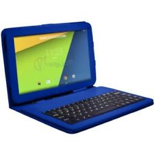 Touchscreen Tablet Android 7 in. Wifi Quad Core 8GB w/ Keyboard Case Bundle New