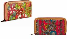 NWT SAKROOTS ARTIST CIRCLE BI-FOLD AND TRI-FOLD CLUTCHES/WALLETS