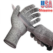 HOT Outdoor Working Gloves Protective Cut-Resistant Anti Abrasion Safety Level 5