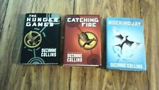 Lot of 3 books: Hunger Games, Catching Fire, Mockingjay - very good cond, hc
