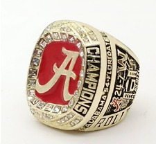 2016 Alabama Crimson Tide SEC Football Championship Ring Size 9 to 13