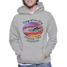 Cessna 182 Skylane King Of The Sky Adult Hoody