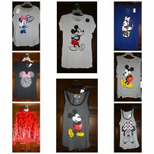 Disney Mickey Mouse Minnie Mouse Juniors Graphic T-Shirt Tank Top Jacket