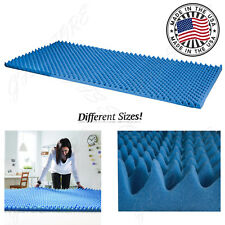 Memory Foam Mattress Pad Comfort Orthopedic Bed Topper Hypoallergenic Gel Cover