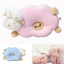 Newborn Baby Foam Infant Cotton Pillows Prevent Flat Head Anti-Roll Neck Support