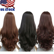 70cm Long Curly Womens Cosplay Costume Party Hair Anime Wigs Full Hair Wavy Wig