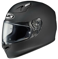 HJC Adult FG-17 Solid Matte Black Full Face Motorcycle Helmet Snell DOT