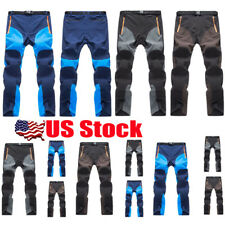 Mens Outdoor Trekking Fishing Quick Dry Tactical Cargo Long Trousers Pants S-3XL