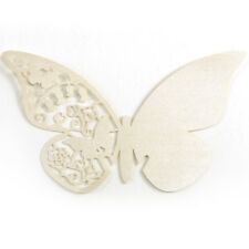 10x Butterfly Place Name Cards Table Blank Cards Wedding Party