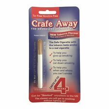 2 Packs - Crafe Away Stop Smoking Cigarette with Tobacco Flavour