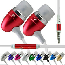 High Quality Aluminium In-Ear Earbud Stereo Handsfree Earphone for Bush Spira D5