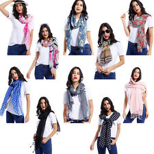 Ladies Fashion Scarf Tassel Scarves Wrap Shawl Neck Wrap Headscarf Stole Warmer